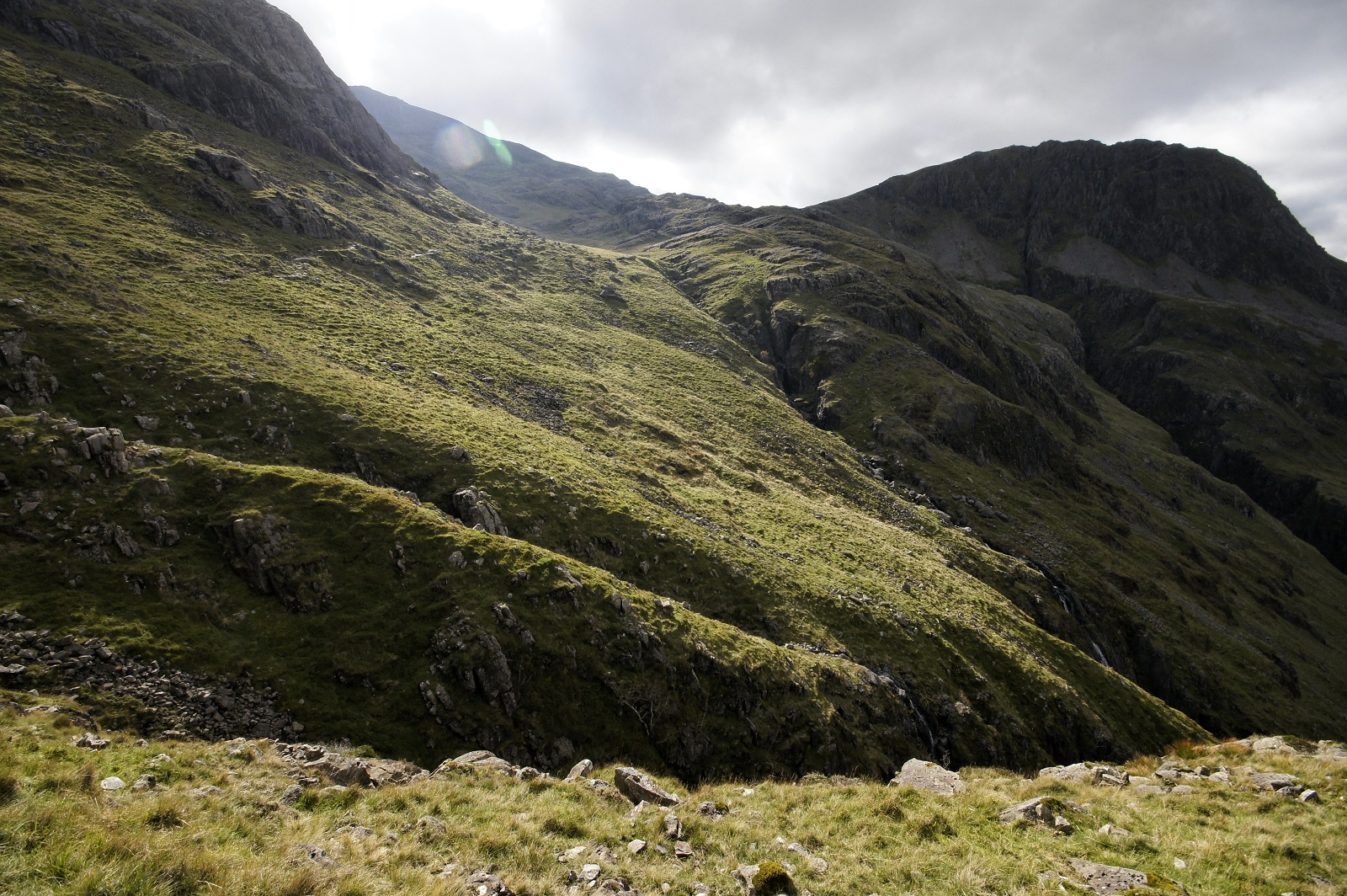 Kieran Rae Scafell Pike Lake District England Corridor Path