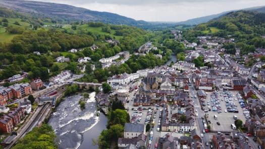 Kieran Rae Dee Valley Llangollen Wales Drone