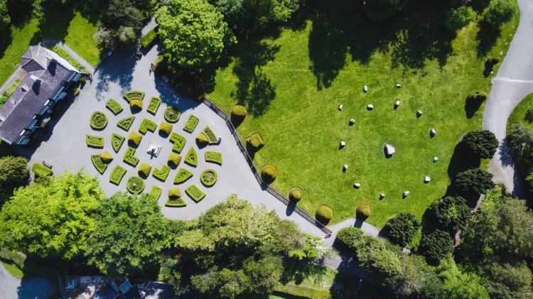 Kieran Rae Dee Valley Llangollen Plas Newydd Garden Wales