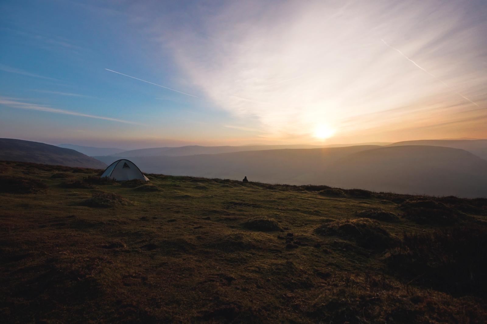 Kieran Rae Offas Dyke Sunset Wales